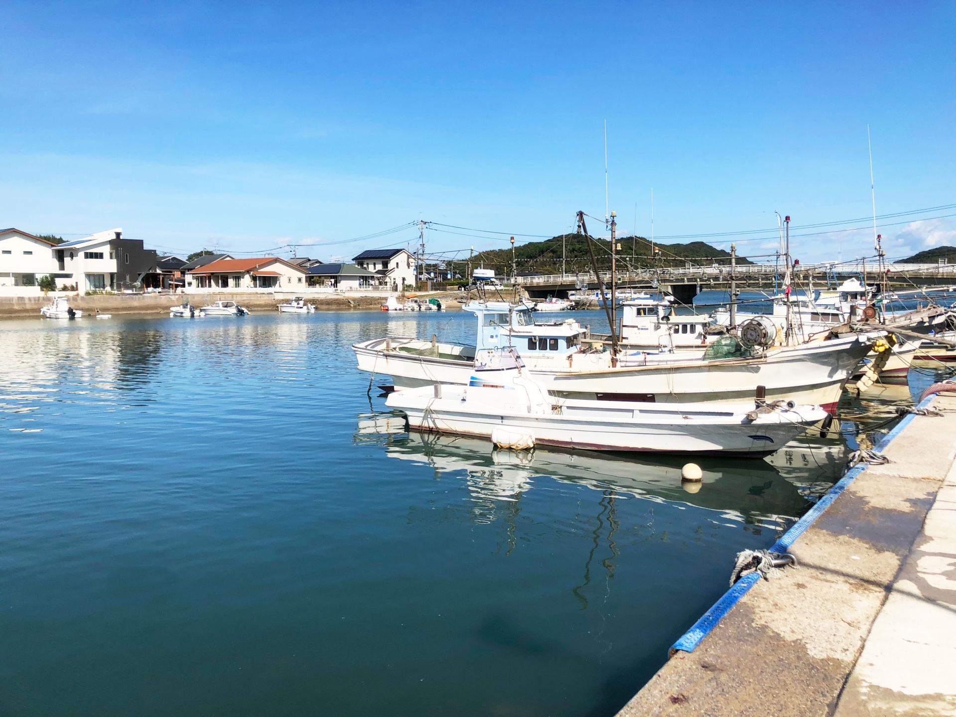 防波堤 漁港